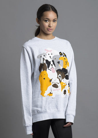 Dog-Party Crewneck