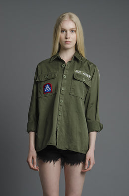 Trust Me Army Jacket View 2