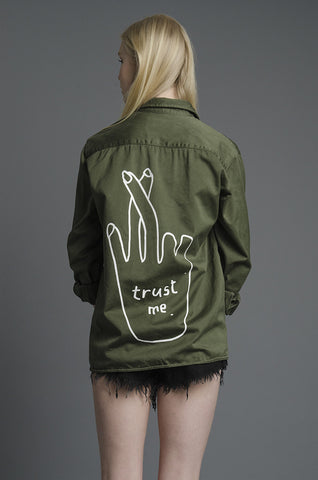 Trust Me Army Jacket