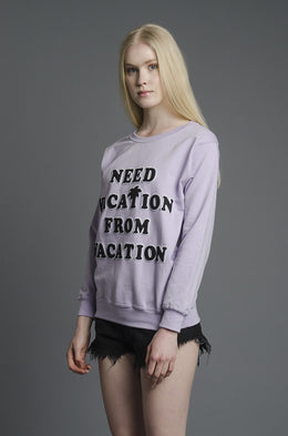 Need Vacation Sweatshirt View 2