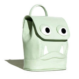 Mini Drool Backpack in Mint View 2
