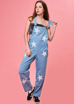 Star Denim Dungarees View 2