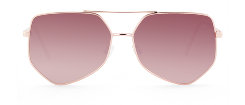 Figueroa Sunglasses in Gold