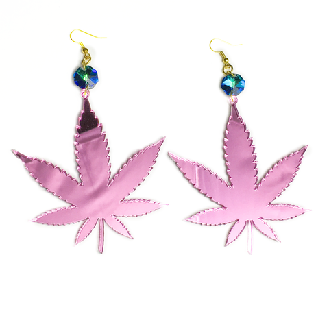Pink Mirror Irie Earrings