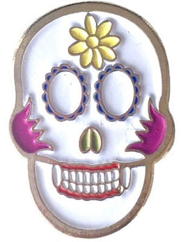 Metal Sugar Skull Patch