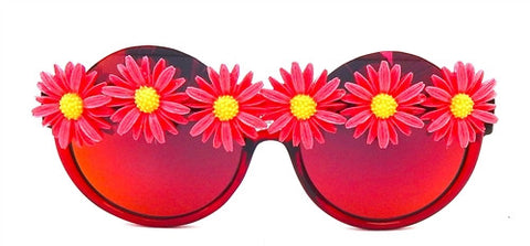 Red Daisy Sunnies