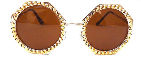 Gold Rush Glasses