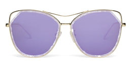 Grand Sunglasses in Crystal Marble