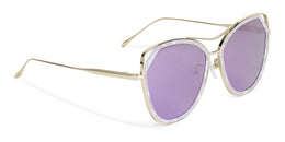 Grand Sunglasses in Crystal Marble View 2