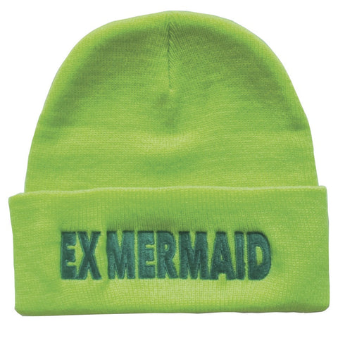 Ex Mermaid Highlighter Beanie