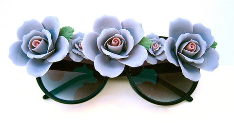 Lady Sings The Blues Purple Rose Glasses