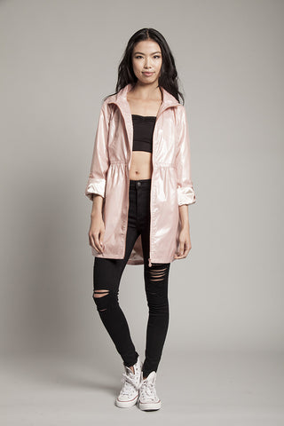 Pink Fizz Waterproof Festival Jacket