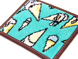 Turquoise Melting Ice Cream Wallet View 2