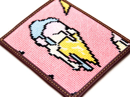 Ice Cream Wallet in Pink View 2