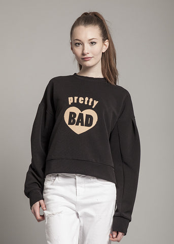 Pretty Bad Sweatshirt in Black