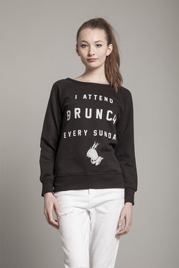 I Attend Brunch Every Sunday Sweatshirt