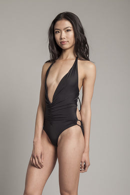 In A Ruch Swimsuit in Black View 2