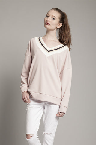 Lotion Sweatshirt in Pink