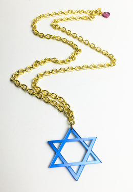 Star of David Necklace View 2