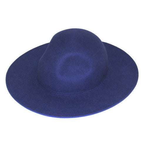 Jet Blue Wide Brim Hat