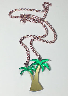 Tropical Palm Necklace View 2