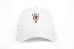 Political Dad Hat in White