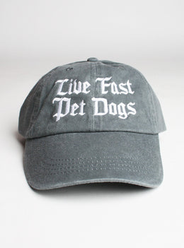 Live Fast Pet Dogs Hat