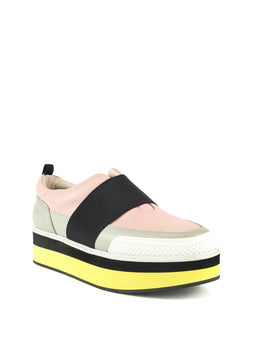 Damini Platform Sneaker in Light Pink Multi