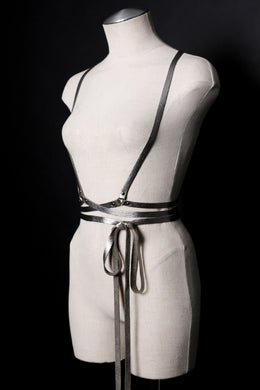 Infinity Wrap Harness in Silver View 2