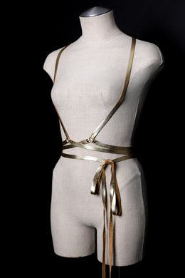 Infinity Wrap Harness in Gold