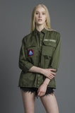 I Have No Idea What I'm Doing Army Jacket (BACKORDERED)