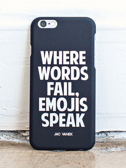 Emojis Speak - iPhone 6 Case