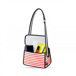 Red Stripe Shoulder Bag View 2