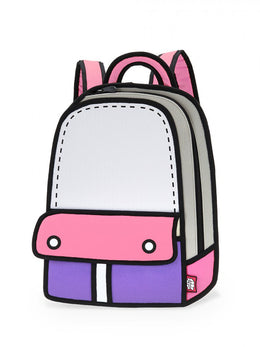 Adventure Backpack in Pink View 2