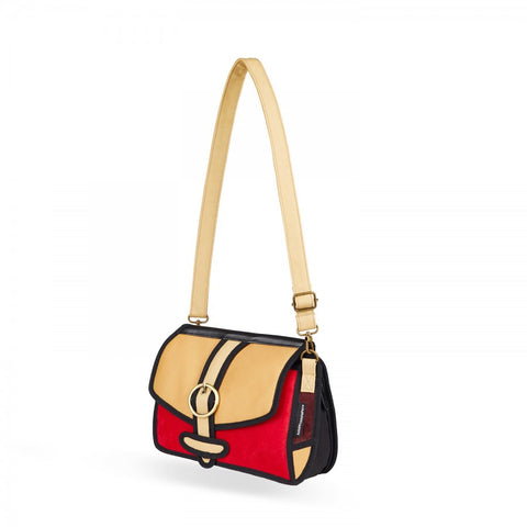 Traveler Clutch in Red