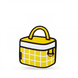Yellow Checked Handbag