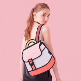 Heatwave Backpack in Pink View 2
