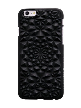 Matte Black Kaleidoscope Case View 2
