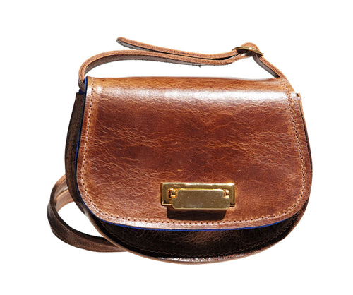 Lulu Brown Cross Body Bag