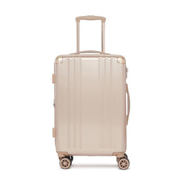 Ambeur Gold Carry On Suitcase