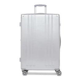 Ambeur Silver Large Suitcase