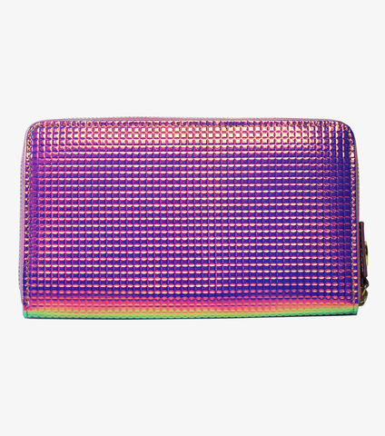 Long Wallet in Holographic Pink