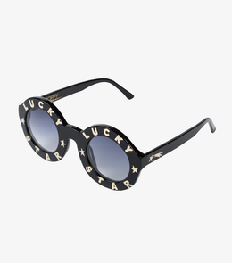 Lucky Star Sunglasses in Black View 2