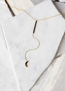 Luna Drop Necklace