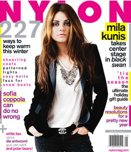 Mila Kunis, January 2011 Issue