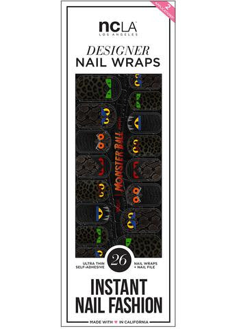Monster Ball Nail Wraps
