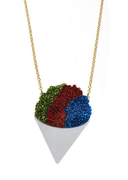 Snow Cone Necklace View 2