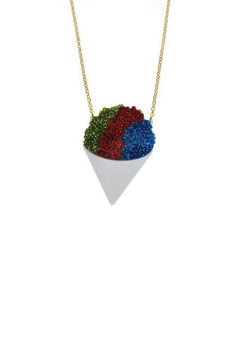 Snow Cone Necklace