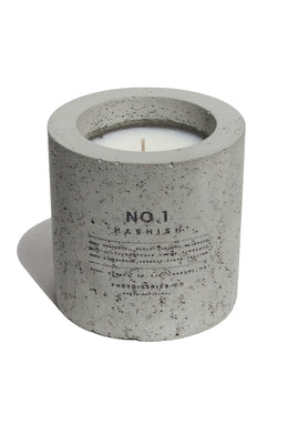 PG+CO NO.1 HASHISH CONCRETE CANDLE