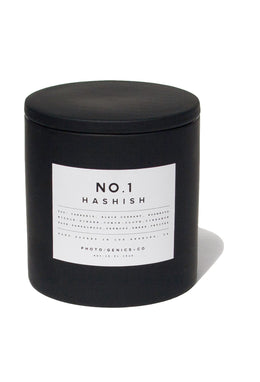 "PG+CO NO.1 HASHISH ""RUBBER"" CANDLE"